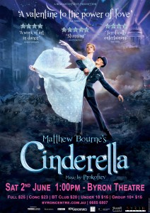 Matthew Bourne's Cinderella - Event Cinema presented by Byron Theatre @ Byron Theatre