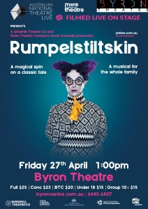 Rumpelstiltskin - Australian National Theatre Live Screening presented by Byron Theatre @ Byron Theatre