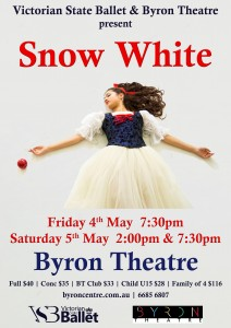 Snow White presented by Victorian State Ballet & Byron Theatre @ Byron Theatre