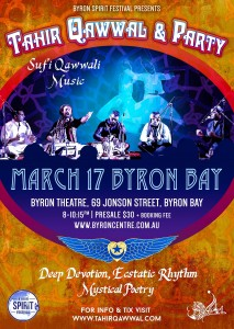 Sufi Qawwali with Tahir Qawwal and Ensemble at Byron Theatre
