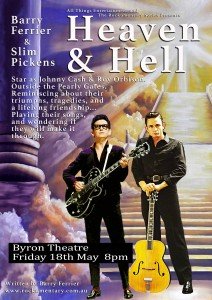 Heaven & Hell: The Friendship Of Johnny Cash And Roy Orbison **New Date** @ Byron Theatre