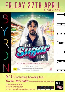 That Sugar Film Presented by Byron Youth Theatre & Damon Gameau @ Byron Theatre
