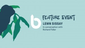 Byron Writers Festival presents Lemn Sissay in conversation with Richard Fidler @ Byron Theatre