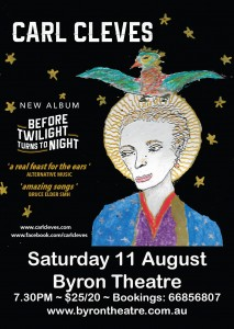 Before Twilight turns to Night presented by Carl Cleves @ Byron Theatre | Byron Bay | New South Wales | Australia