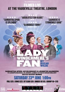 Lady Windermere's Fan by Oscar Wilde – World Theatre On Screen presented by Byron Theatre @ Byron Theatre