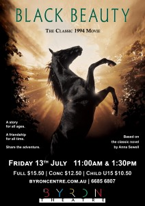 Black Beauty (1994) screening at Byron Theatre