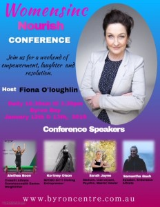 Nourish Women's Conference presented by Women's Inc @ Byron Theatre