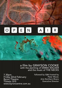 Open Air presented by Grayson Cooke & Emma Walker at Byron Theatre