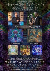 Harmonic Spaces 2019 presented by Earth Frequency Festival @ Byron Theatre