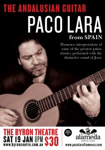 "Paco Lara  ""The Andalusian Guitar"" presented by Alameda Social Club @ Byron Theatre"
