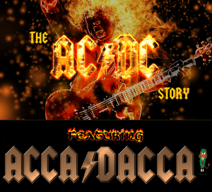 "The AC/DC Story – A ""Rockumentary"" presented by Livewire Promotions @ Byron Theatre"