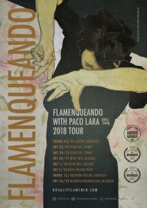 FLAMENQUEANDO with special guest PACO LARA presented by Flamenqueando Productions @ Byron Theatre