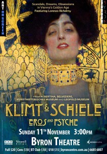 Klimt & Schiele: Eros and Psyche – Art on Screen presented by Byron Theatre @ Byron Theatre