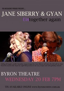 Jane Siberry & Gyan – Untogether Again presented by The Museagency @ Byron Theatre